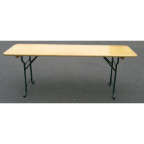 Table Brasserie Tolède 200x80