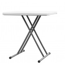table multifonction resine pehd plume