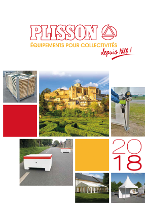 Catalogue Plisson 2018